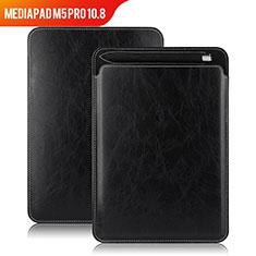 Handytasche Stand Schutzhülle Leder für Huawei MediaPad M5 Pro 10.8 Schwarz