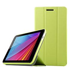 Handytasche Stand Schutzhülle Leder für Huawei Mediapad T2 7.0 BGO-DL09 BGO-L03 Grün
