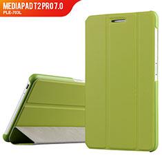 Handytasche Stand Schutzhülle Leder für Huawei MediaPad T2 Pro 7.0 PLE-703L Grün
