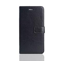 Handytasche Stand Schutzhülle Leder für Huawei Y5 (2018) Schwarz