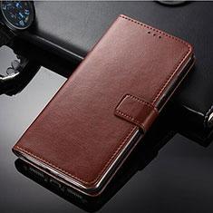 Handytasche Stand Schutzhülle Leder für Nokia 9 PureView Braun