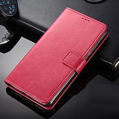 Handytasche Stand Schutzhülle Leder für Nokia 9 PureView Rot