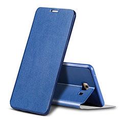 Handytasche Stand Schutzhülle Leder für Samsung Galaxy C9 Pro C9000 Blau