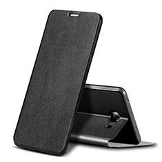 Handytasche Stand Schutzhülle Leder für Samsung Galaxy C9 Pro C9000 Schwarz