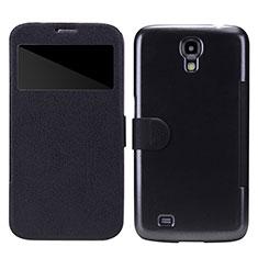 Handytasche Stand Schutzhülle Leder für Samsung Galaxy Mega 6.3 i9200 i9205 Schwarz