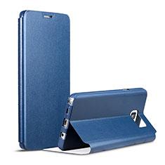 Handytasche Stand Schutzhülle Leder für Samsung Galaxy Note 5 N9200 N920 N920F Blau