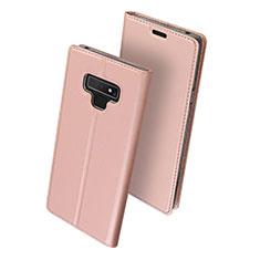 Handytasche Stand Schutzhülle Leder für Samsung Galaxy Note 9 Rosa