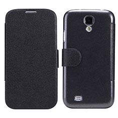 Handytasche Stand Schutzhülle Leder für Samsung Galaxy S4 IV Advance i9500 Schwarz