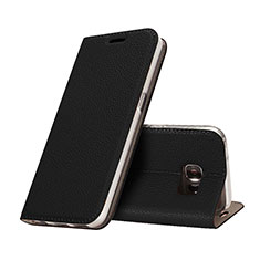 Handytasche Stand Schutzhülle Leder für Samsung Galaxy S7 G930F G930FD Schwarz