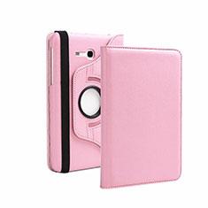 Handytasche Stand Schutzhülle Leder für Samsung Galaxy Tab 3 Lite 7.0 T110 T113 Rosa