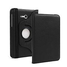 Handytasche Stand Schutzhülle Leder für Samsung Galaxy Tab 3 Lite 7.0 T110 T113 Schwarz