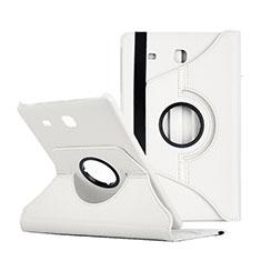 Handytasche Stand Schutzhülle Leder für Samsung Galaxy Tab E 9.6 T560 T561 Weiß