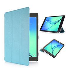 Handytasche Stand Schutzhülle Leder für Samsung Galaxy Tab S2 8.0 SM-T710 SM-T715 Hellblau