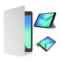 Handytasche Stand Schutzhülle Leder für Samsung Galaxy Tab S2 8.0 SM-T710 SM-T715 Weiß