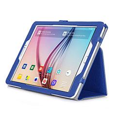 Handytasche Stand Schutzhülle Leder für Samsung Galaxy Tab S2 9.7 SM-T810 SM-T815 Blau