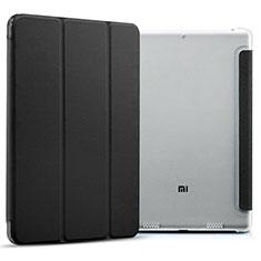 Handytasche Stand Schutzhülle Leder für Xiaomi Mi Pad 3 Schwarz