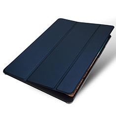 Handytasche Stand Schutzhülle Leder für Xiaomi Mi Pad 4 Blau
