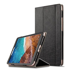 Handytasche Stand Schutzhülle Leder für Xiaomi Mi Pad 4 Schwarz