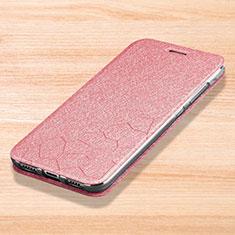 Handytasche Stand Schutzhülle Leder für Xiaomi Mi Play 4G Rosa