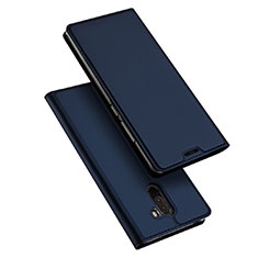 Handytasche Stand Schutzhülle Leder für Xiaomi Pocophone F1 Blau