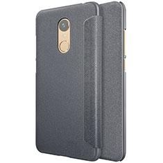 Handytasche Stand Schutzhülle Leder für Xiaomi Redmi 5 Plus Schwarz