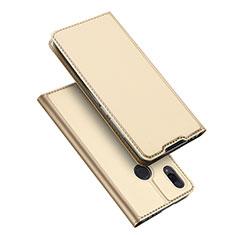 Handytasche Stand Schutzhülle Leder für Xiaomi Redmi Note 7 Gold