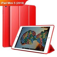 Handytasche Stand Schutzhülle Leder Hülle für Apple iPad Mini 5 (2019) Rot