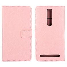 Handytasche Stand Schutzhülle Leder Hülle für Asus Zenfone 2 ZE551ML ZE550ML Rosa