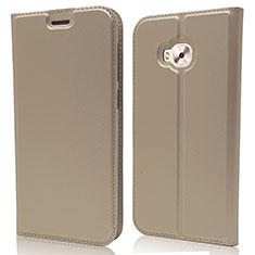 Handytasche Stand Schutzhülle Leder Hülle für Asus Zenfone 4 Selfie ZD553KL Gold