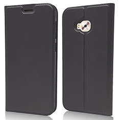 Handytasche Stand Schutzhülle Leder Hülle für Asus Zenfone 4 Selfie ZD553KL Schwarz