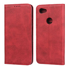 Handytasche Stand Schutzhülle Leder Hülle für Google Pixel 3a XL Rot