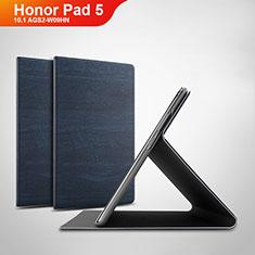 Handytasche Stand Schutzhülle Leder Hülle für Huawei Honor Pad 5 10.1 AGS2-W09HN AGS2-AL00HN Blau
