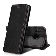Handytasche Stand Schutzhülle Leder Hülle für Huawei Honor View 10 Lite Schwarz