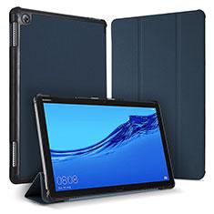 Handytasche Stand Schutzhülle Leder Hülle für Huawei MediaPad M5 Lite 10.1 Blau