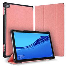 Handytasche Stand Schutzhülle Leder Hülle für Huawei MediaPad M5 Lite 10.1 Rosa