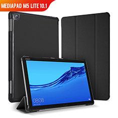 Handytasche Stand Schutzhülle Leder Hülle für Huawei MediaPad M5 Lite 10.1 Schwarz