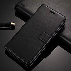 Handytasche Stand Schutzhülle Leder Hülle für Huawei Nova 6 5G Schwarz