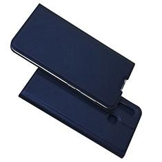 Handytasche Stand Schutzhülle Leder Hülle für Samsung Galaxy A30 Blau