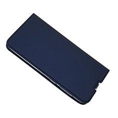Handytasche Stand Schutzhülle Leder Hülle für Samsung Galaxy A50 Blau