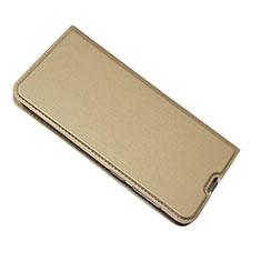 Handytasche Stand Schutzhülle Leder Hülle für Samsung Galaxy A50 Gold