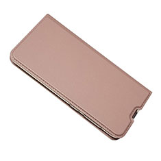 Handytasche Stand Schutzhülle Leder Hülle für Samsung Galaxy A50 Rosegold
