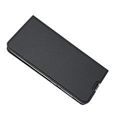 Handytasche Stand Schutzhülle Leder Hülle für Samsung Galaxy A50 Schwarz