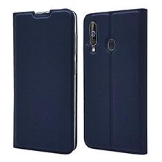 Handytasche Stand Schutzhülle Leder Hülle für Samsung Galaxy A60 Blau