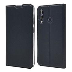 Handytasche Stand Schutzhülle Leder Hülle für Samsung Galaxy A60 Schwarz