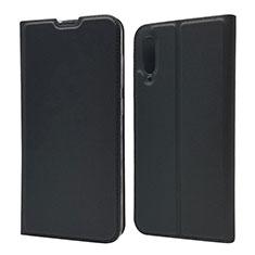Handytasche Stand Schutzhülle Leder Hülle für Samsung Galaxy A70 Schwarz