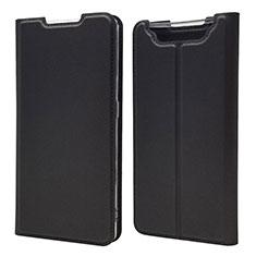 Handytasche Stand Schutzhülle Leder Hülle für Samsung Galaxy A80 Schwarz