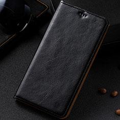 Handytasche Stand Schutzhülle Leder Hülle für Samsung Galaxy A81 Schwarz