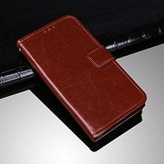 Handytasche Stand Schutzhülle Leder Hülle für Sony Xperia 10 Plus Braun