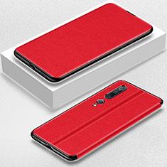 Handytasche Stand Schutzhülle Leder Hülle für Xiaomi Mi 10 Pro Rot
