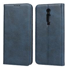 Handytasche Stand Schutzhülle Leder Hülle für Xiaomi Mi 9T Blau